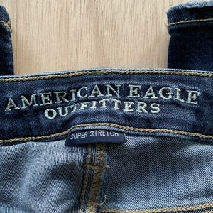 American Eagle Outfitters Jeans - American Eagle Skinny Blue Jeans Womens Size 10